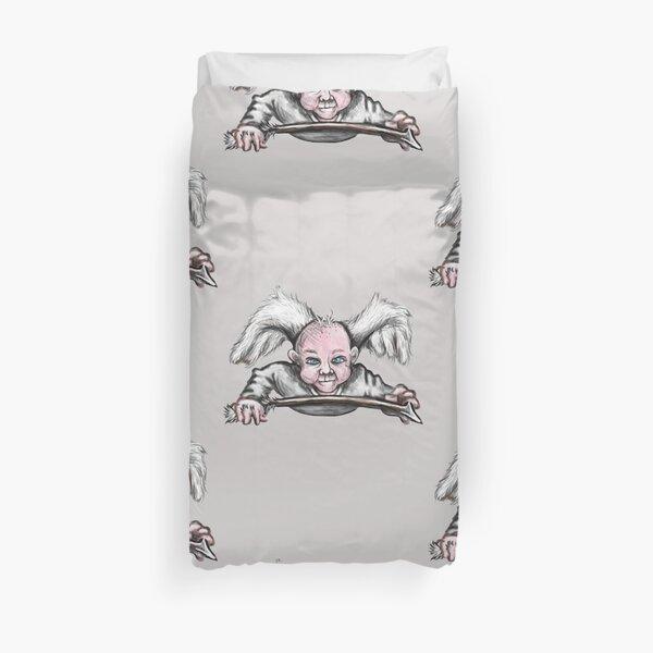 Mischievous Cupid Angel Duvet Cover