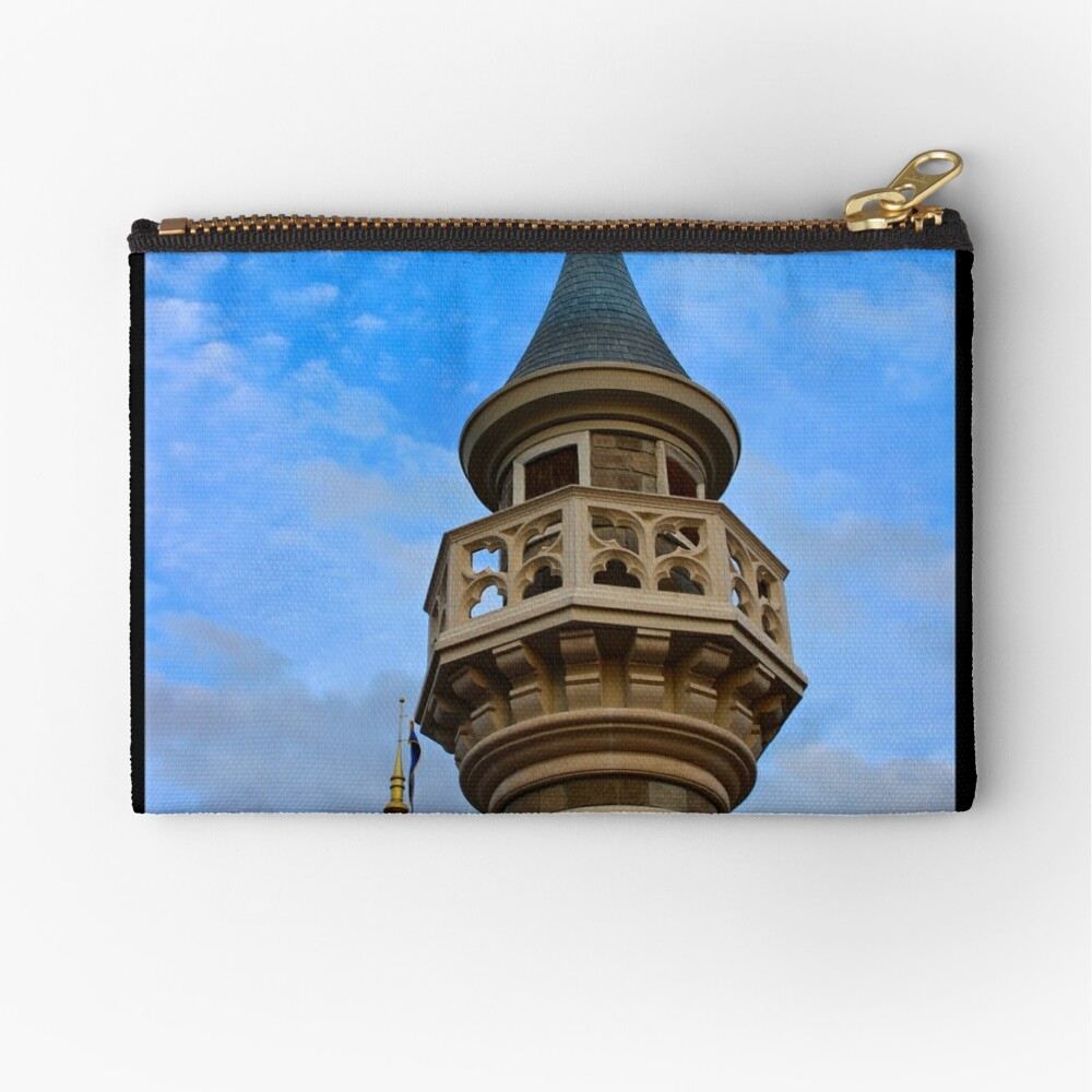 Behind these Castle Walls Zipper Pouch