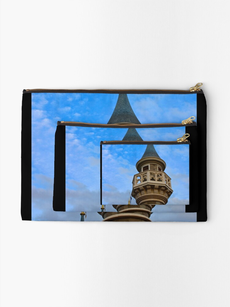 Alternate view of Behind these Castle Walls Zipper Pouch