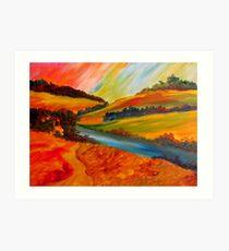 Landscape Composition Art Print