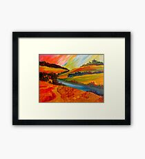 Landscape Composition Framed Print