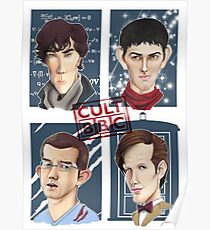 CULT BBC - The Heroes (All in 1) Poster Poster