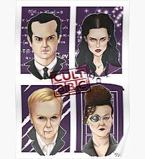 CULT BBC - The Villians Poster