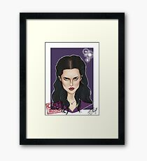 CULT BBC - Morgana (Merlin) Framed Print