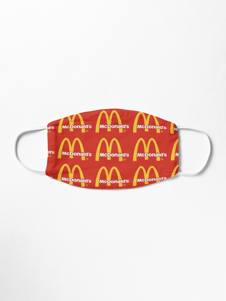 Alternate view of mcdonalds logo  Mask