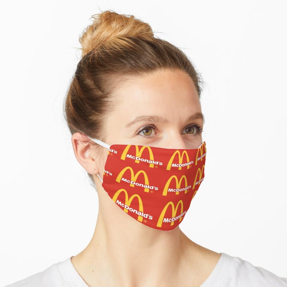 mcdonalds logo  Mask