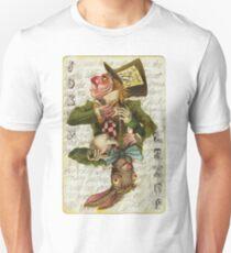 Mad Hatter Joker Card T-Shirt