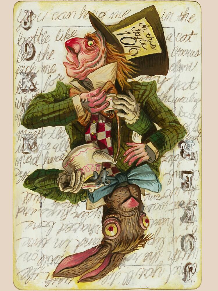 Mad Hatter Joker Card | Unisex T-Shirt