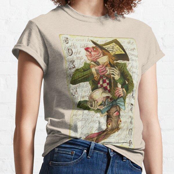 Carte Mad Hatter Joker T-shirt classique