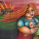 SUNOG SA KAPITBAHAY (Fire at the Neighbor's) by palma tayona