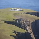 The North Lighthouse, Fair Isle by Redbarron