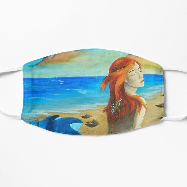 Mermaid Siren Beach Ocean Nautical  Mask
