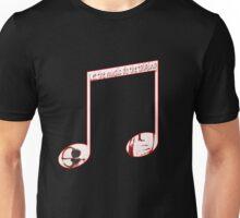 Music speaks volumes Unisex T-Shirt