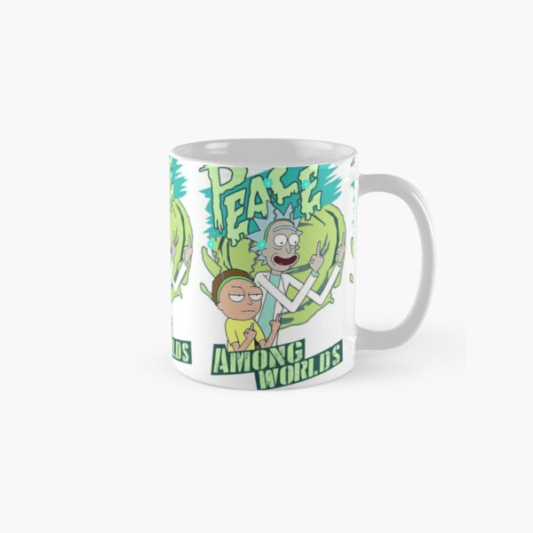 Peace between worlds | Rick and Morty | Peace among worlds Classic Mug