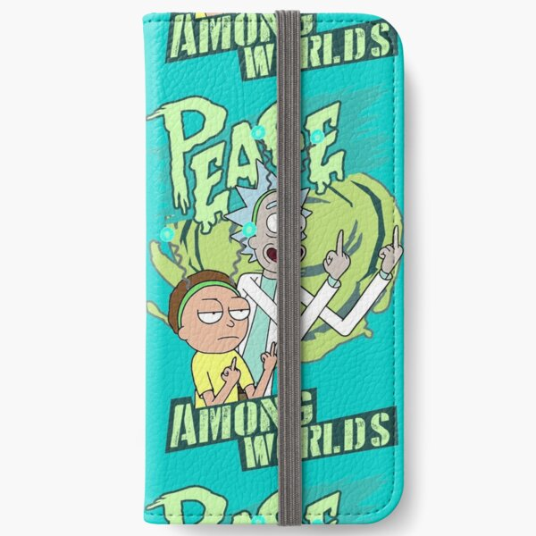 Peace between worlds | Rick and Morty | Peace among worlds iPhone Wallet