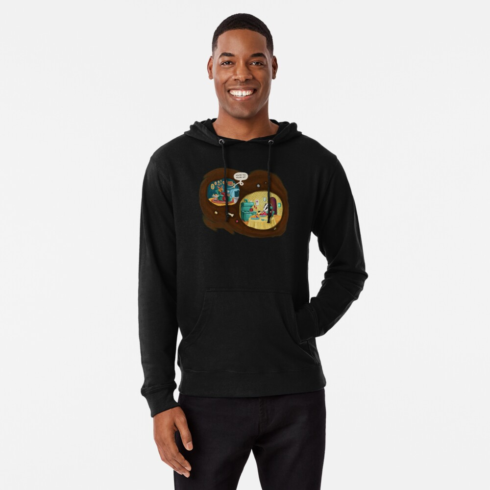 How're you holing up? Lightweight Hoodie
