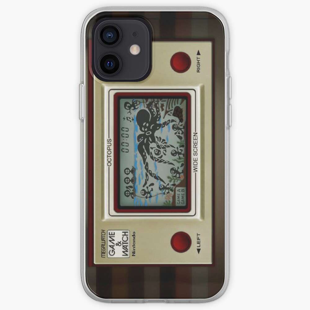 Game&Watch Octopus iPhone Case & Cover