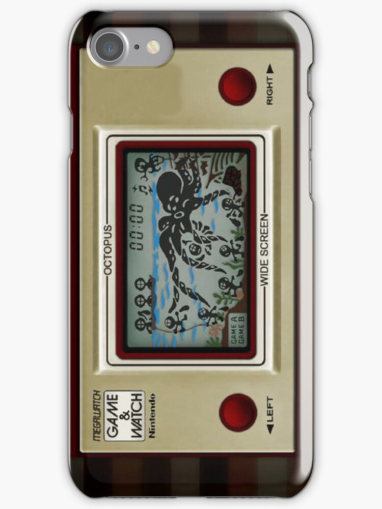 Game&Watch Octopus by G3no