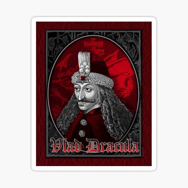 Vlad Dracula Gothic Sticker