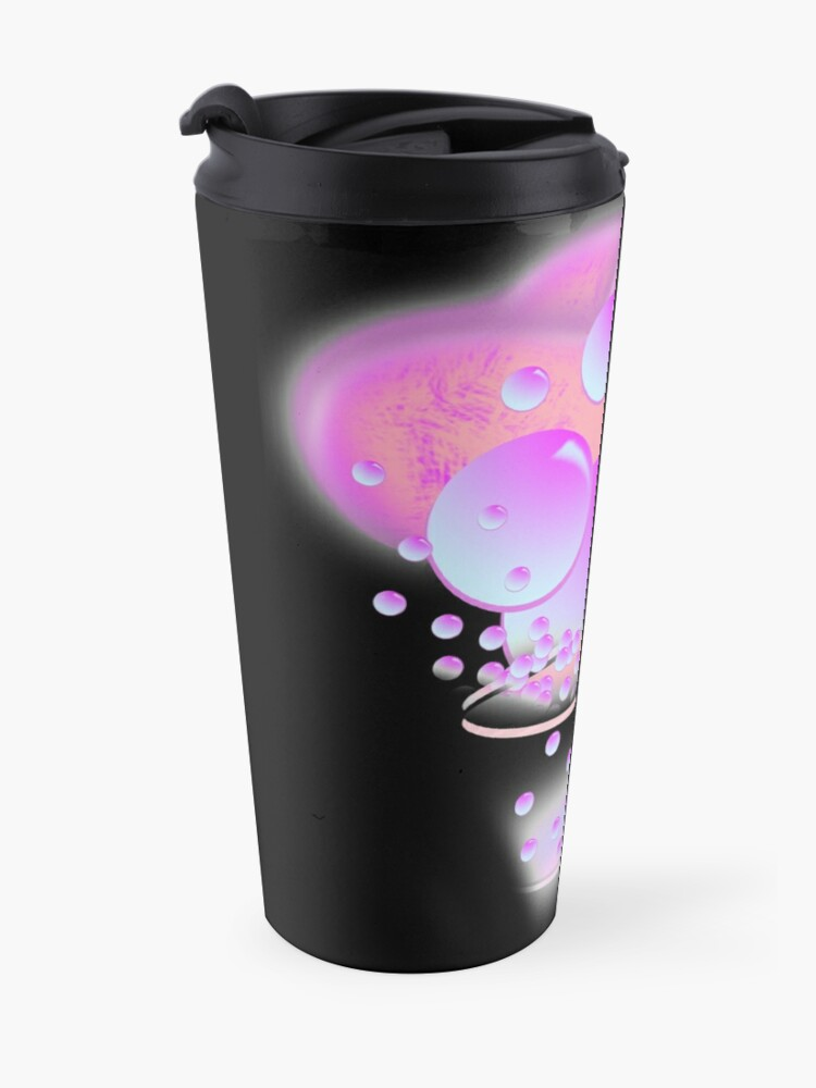 Alternate view of Butterfly Bubbles Travel Mug