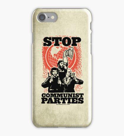 Stop Communist Parties iPhone Case/Skin