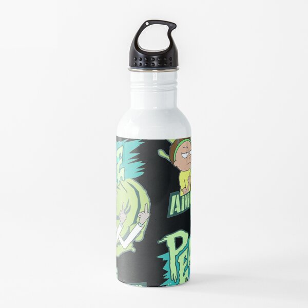 Peace between worlds | Rick and Morty | Peace among worlds Water Bottle