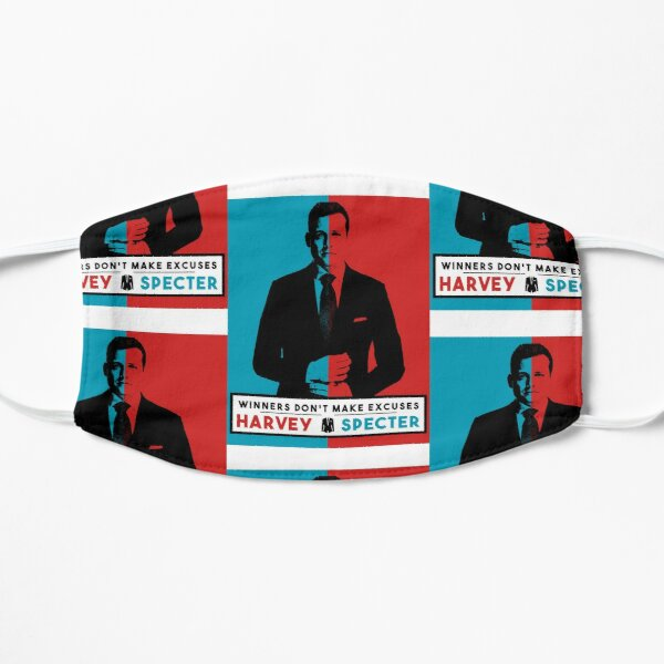 Winners don't make excuses - Harvey Specter Quotes - Suits  Mask