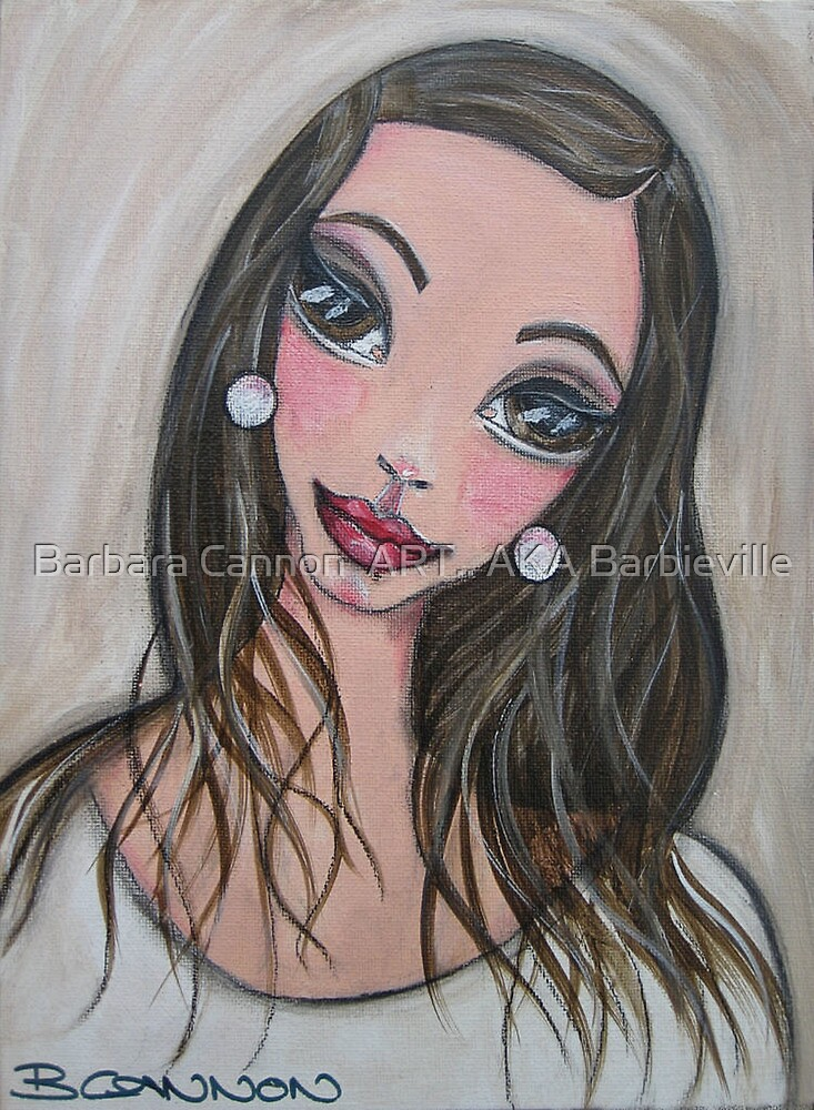 KIRRALEE by Barbara Cannon  ART.. AKA Barbieville