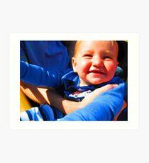 Little Boy Blue Afloat in a Boat Art Print