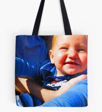 Little Boy Blue Afloat in a Boat Tote Bag
