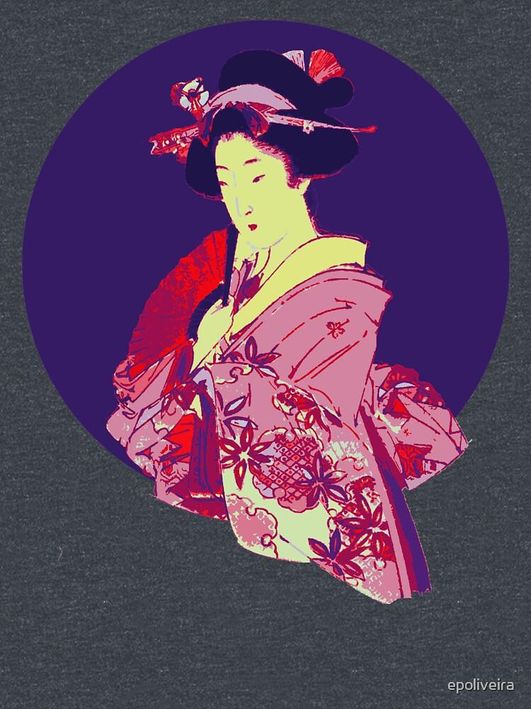 japan geisha japanese lady art by epoliveira