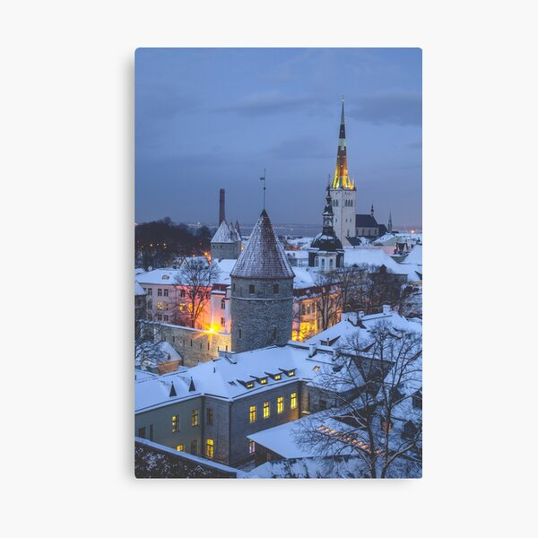 Tallinn, Estonia Canvas Print