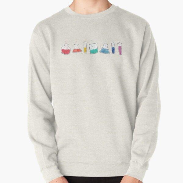 Spectrum test tubes Pullover Sweatshirt
