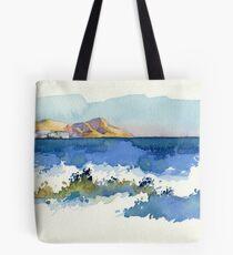 Black Sea Shore Tote Bag