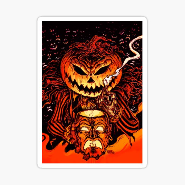 Pumpkin King Lord O Lanterns Sticker