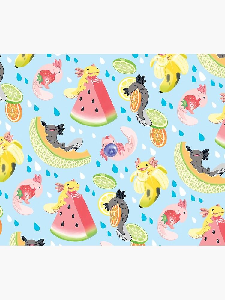 Fruity Fresh Snaxolotls pattern by mamath