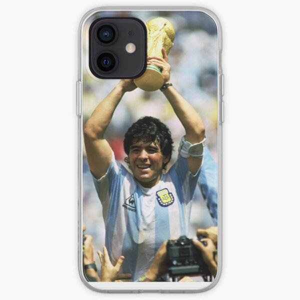 Diego Maradona - 1986 Funda blanda para iPhone