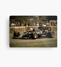Senna Lotus Metal Print
