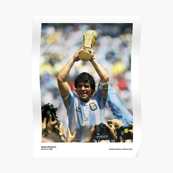Diego Maradona - 1986 Poster