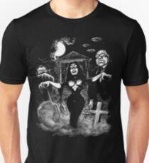 Vampira Plan 9 zombies Unisex T-Shirt