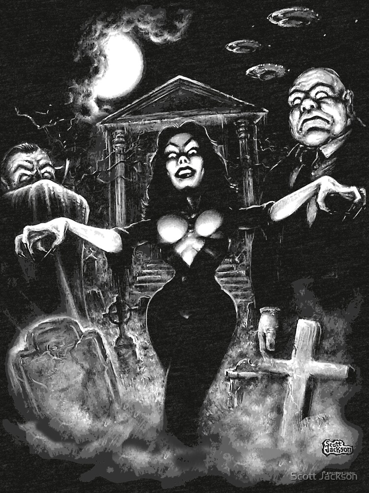Vampira Plan 9 zombies by themonsterstore