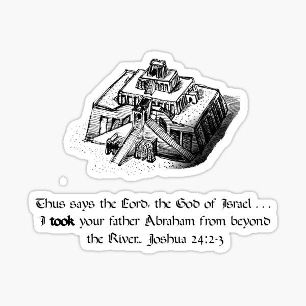 Joshua 24:2-3 Sticker