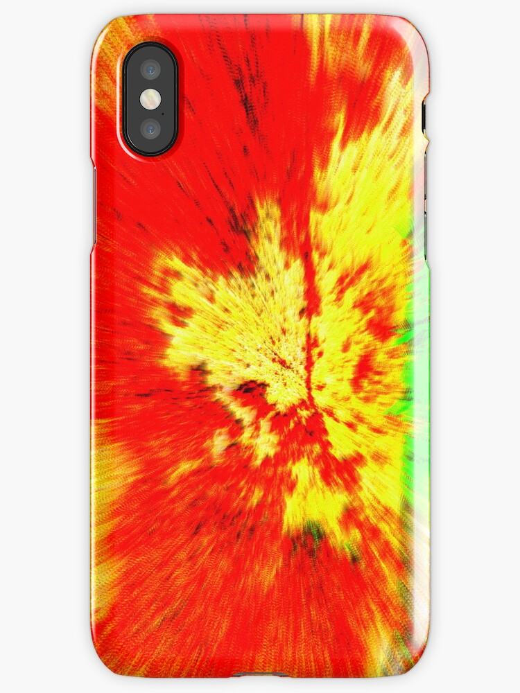 Spicy iPhone Case by Fara