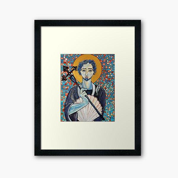 Camino De Santiago Framed Art Print