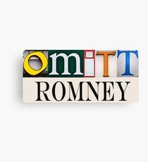 Omitt Romney Canvas Print