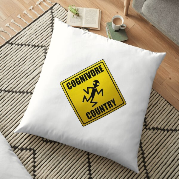 Cognivore Country Sign Floor Pillow
