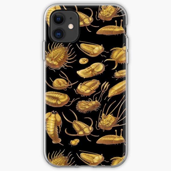Golden Trilobites iPhone Soft Case