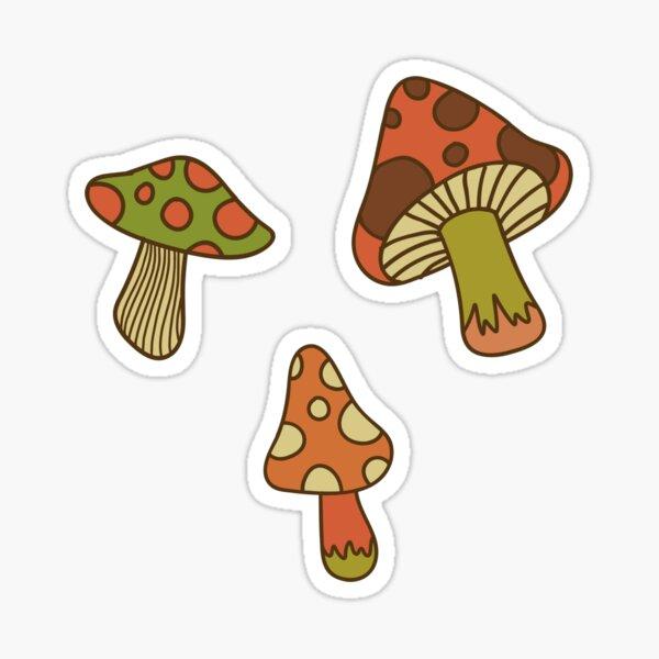 mushrooms! Sticker