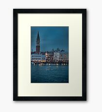 (see large)        ...Venice at night .... Framed Print