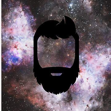 A Galaxy Full of Beard by edwinculling